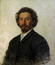 Ilja Repin, Selbstbildnis 1887 von AKG  Images