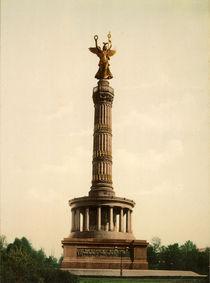 Berlin, Siegessaeule / Foto 1898 von AKG  Images