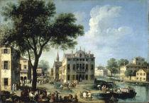 Brenta, Ansicht / Gem.v.Canaletto von AKG  Images