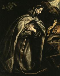 El Greco, Franz von Assisi by AKG  Images