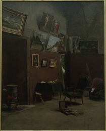 F.Bazille, Atelier de la Rue Furstenberg von AKG  Images