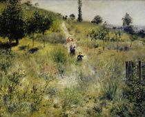 Auguste Renoir/ Ansteigender Weg.../1876 von AKG  Images