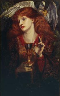 D.G.Rossetti, Jungfrau des Hl.Grals von AKG  Images