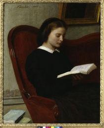 H.Fantin-Latour, La liseuse - The Reader / Fantin von AKG  Images