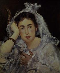 E.Manet, Marguerite de Conflans mit Kap. by AKG  Images