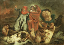 E.Manet, Dante u. Vergil in d. Barke von AKG  Images