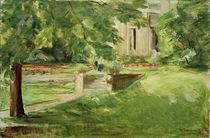 M.Liebermann, Haus und Terrasse by AKG  Images