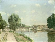 Pissarro, Pont de chemin de fer by AKG  Images