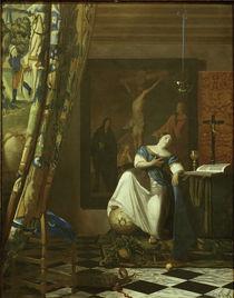 Vermeer, Allegorie des Glaubens by AKG  Images