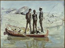Slevogt, Sudanesen im Kahn/ 1914 von AKG  Images
