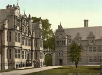 Oxford, Trinity College / Photochrom von AKG  Images