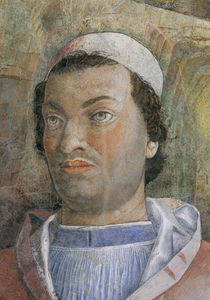Kardinal Francesco Gonzaga / Mantegna von AKG  Images