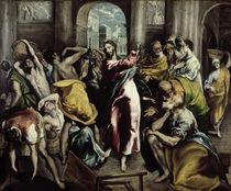 El Greco, Tempelreinigung von AKG  Images