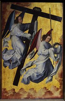 R.v.d.Weyden, Engel mit Leidenswerkzeug von AKG  Images