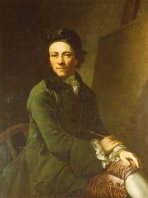 Anton Graff, Jugendl.Selbstbildnis by AKG  Images
