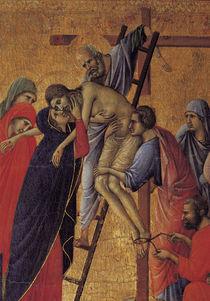 Duccio, Kreuzabnahme, Ausschnitt by AKG  Images