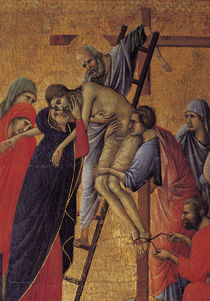 Duccio, Kreuzabnahme, Ausschnitt von AKG  Images