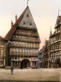 Hildesheim, Kochenhaueramtshaus /Photoch von AKG  Images