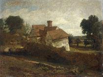 J.Constable, Landschaft mit Huetten by AKG  Images