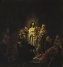 Rembrandt, Unglaeubiger Thomas by AKG  Images