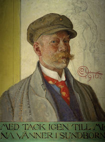 Carl Larsson, Selbstbildnis by AKG  Images