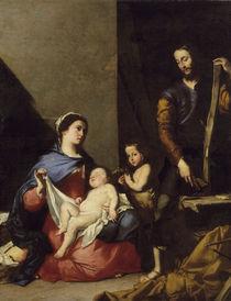 J.Ribera, Hl. Familie by AKG  Images