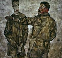 E.Schiele, Doppelbildnis Benesch by AKG  Images