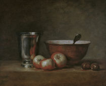 J.B.S.Chardin, Der Silberbecher by AKG  Images