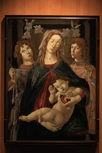 Botticelli, Werkstatt, Maria mit Kind von AKG  Images