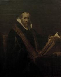 Rembrandt, Johannes Cornelisz. Sylvius by AKG  Images