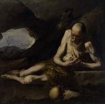 J.de Ribera, Der Einsiedler Paulus by AKG  Images