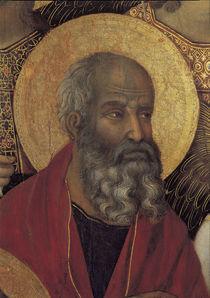 Duccio, Maesta, Evangelist Johannes von AKG  Images