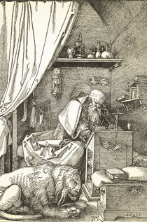 Duerer, Hl.Hieronymus in der Zelle by AKG  Images