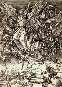 A.Duerer, Michaels Kampf mit dem Drachen by AKG  Images