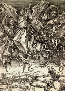 A.Duerer, Michaels Kampf mit dem Drachen von AKG  Images