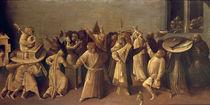 Hieronymus Bosch, Karnval und Fasten von AKG  Images