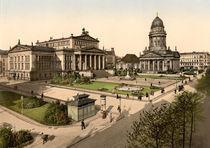 Berlin, Gendarmenmarkt , um 1900 von AKG  Images