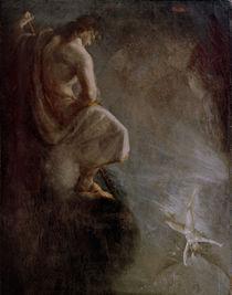 J.H.Fuessli, Uriel beobacht Satan by AKG  Images