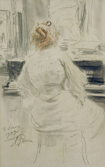 I.Repin, Am Klavier von AKG  Images