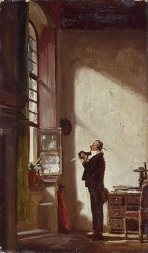 Carl Spitzweg, Der Schreiber/um 1855-60 von AKG  Images