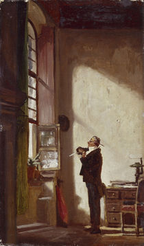 Carl Spitzweg, Der Schreiber/um 1855-60 by AKG  Images