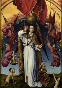 R. van der Weyden, Erzengel Michael von AKG  Images