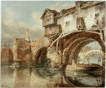 W.Turner, Old Welsh Bridge Shrewsbury von AKG  Images