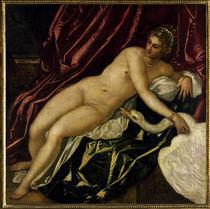 J.Tintoretto, Leda mit dem Schwan by AKG  Images