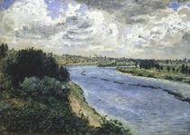 A.Renoir, Chalands sur la Seine by AKG  Images