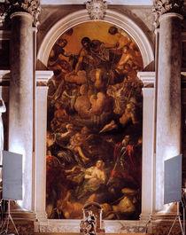 Tintoretto, Vision des Hl.Rochus by AKG  Images