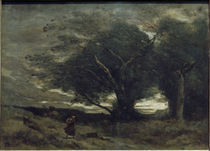 Camille Corot, Windstoss by AKG  Images