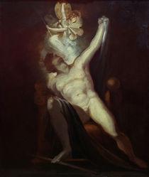 J.H.Fuessli, Satan und Geburt der Suende by AKG  Images