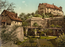 Nuernberg, Burg von Westen / Photochrom by AKG  Images