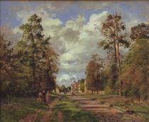 C.Pissarro, Die Strasse von Louveciennes von AKG  Images